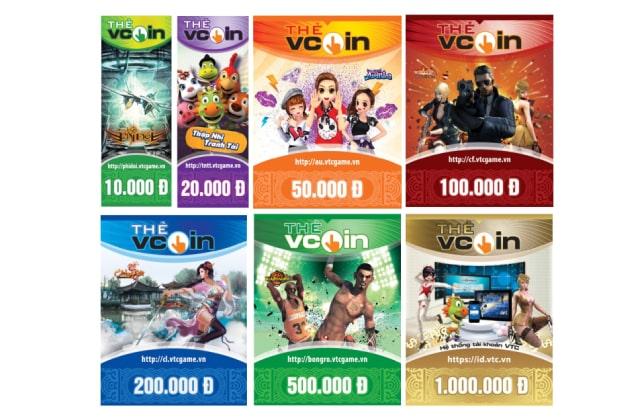 Thẻ cào game VTC