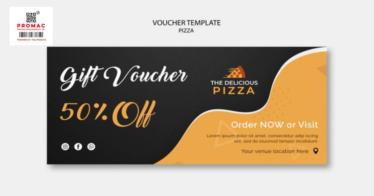 Cách thiết kế một voucher đơn giản, ấn tượng và đẹp mắt