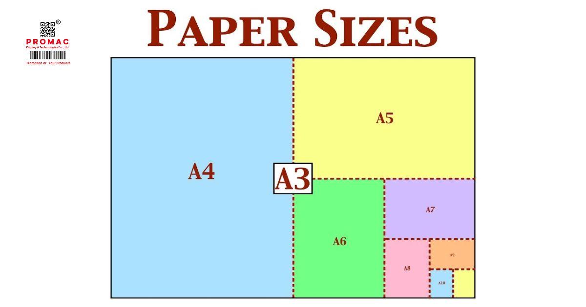 kích thước chuẩn của khổ giấy trong in ấn