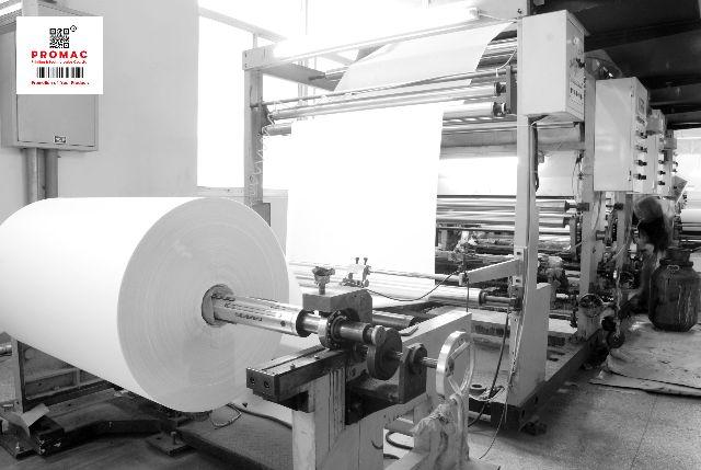 quy trình cuộn giấy