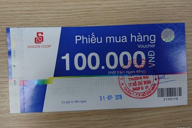 in phiếu trúng thưởng cho siêu thị