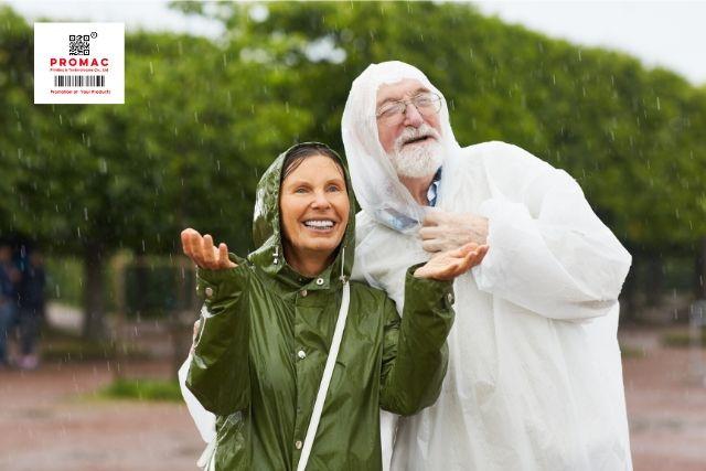lợi ích áo mưa quà tặng quảng cáo