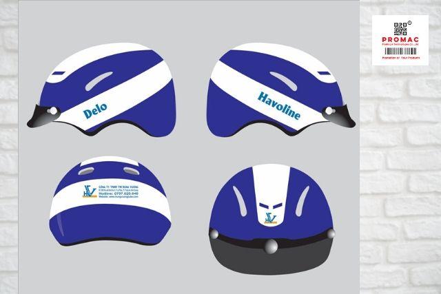 mũ bảo hiểm quà tặng quảng cáo đẹp
