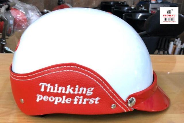 mũ bảo hiểm quà tặng quảng cáo