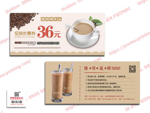 in thẻ cào cho chuỗi trà sữa