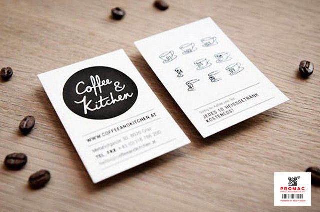 thẻ tích điểm quán cafe