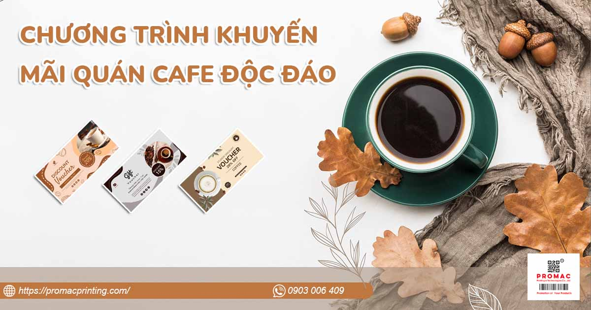 7 Chương trình khuyến mãi quán Cafe, Trà sữa hiệu quả, ít tốn kém